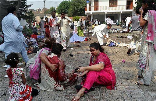 Peshawar-Victims