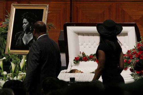 Singer Etta James Funeral 2012