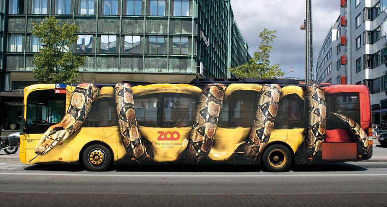 bus ad by Bates (Y&R Marketing)